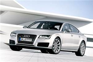 2011 Audi A7 images leaked