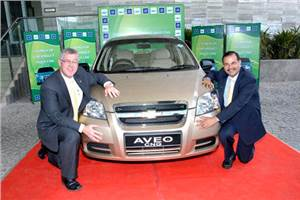 GM launches Chevrolet Aveo CNG