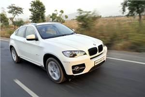 BMW X6 diesel test drive