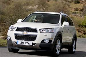 New Captiva test drive, review