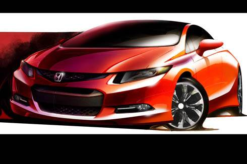 2012 Civic Teaser Image out