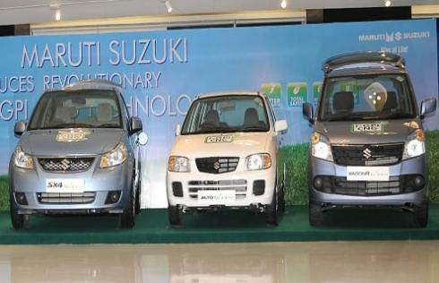 Maruti rolls out 5 CNG models