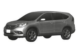 New CR-V patent drawings leaked