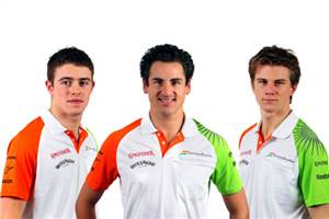 Force India confirms 2011 drivers