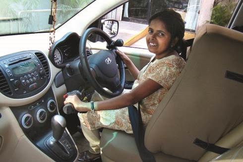 Cars for physically challenged