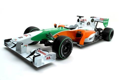 Force India unveils its 2010 car