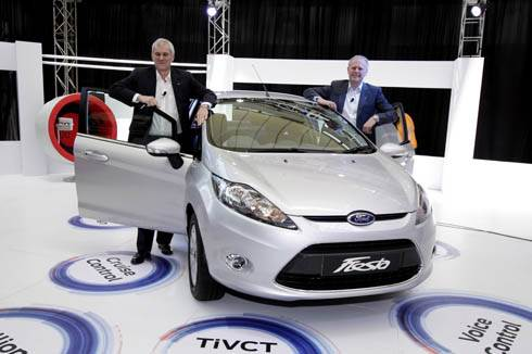 New Ford Fiesta 2011 revealed