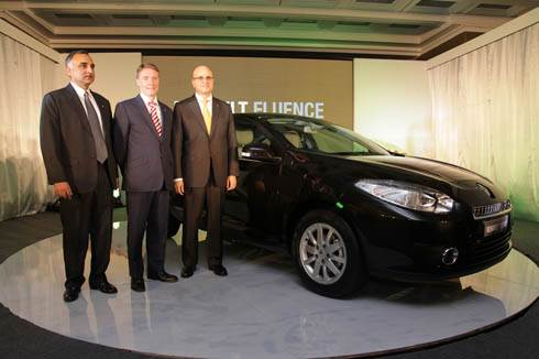 Renault Fluence launched in India