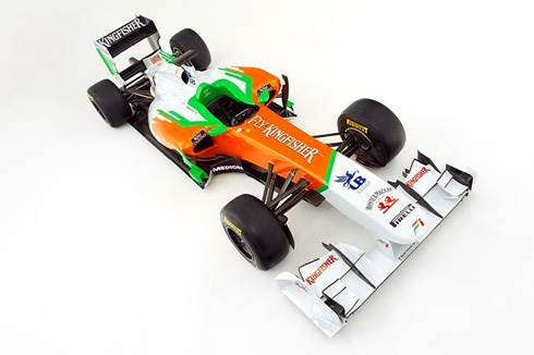 Force India VJM04launch