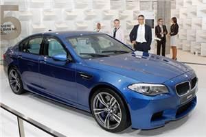 BMW M5 unveiled at Frankfurt