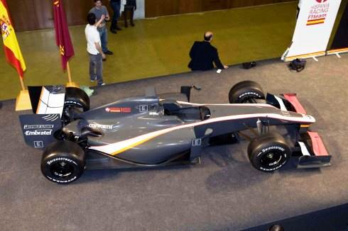HRT F1 2010 car unveiled