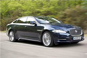 Jaguar XJ overtakes Germans in UK