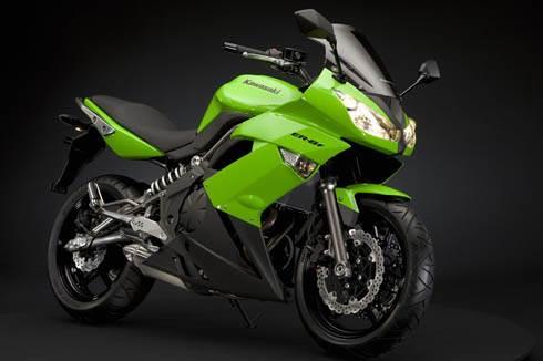 Kawasaki ER-6f weeks away
