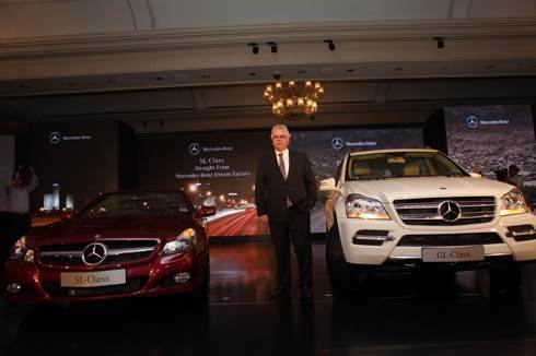 Mercedes launches two models