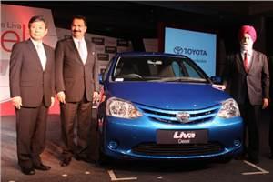 Toyota Etios, Liva diesel launched