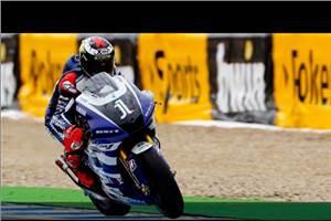 Lorenzo wins dramatic Spanish GP