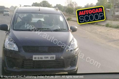 Maruti's new R III mini-MPV spied