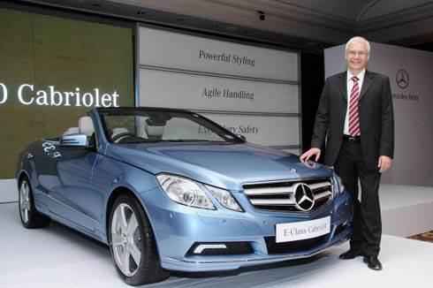 Mercedes unveils E Class Cabrio