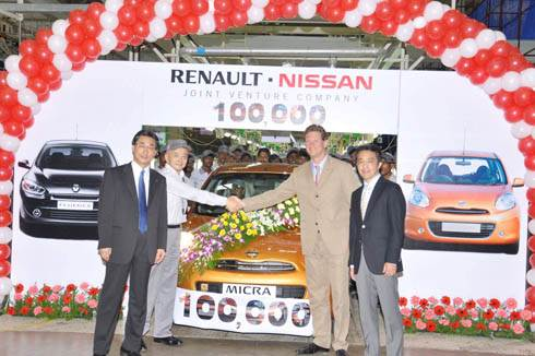 Nissan rolls out 100,000th Micra