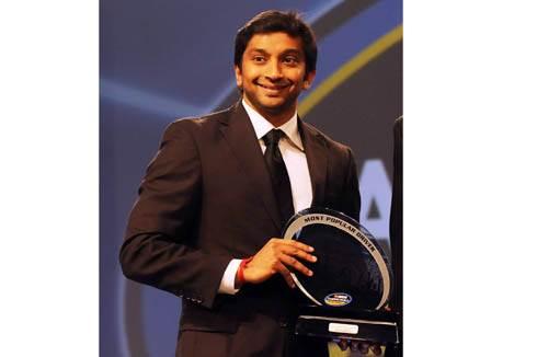 Narain bags popular driver award