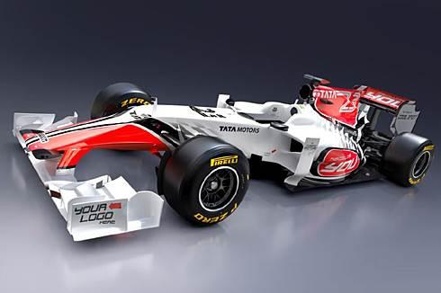 HRT reveals F1 2011 car images