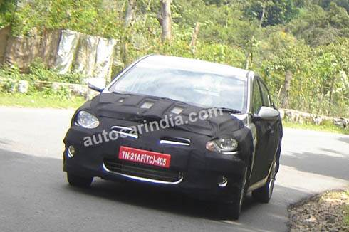 SCOOP! Hyundai RB spotted in India