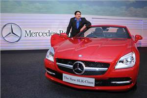 New Mercedes SLK launched
