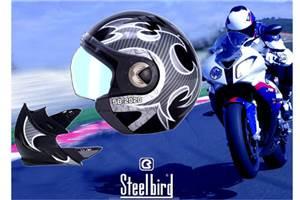 Steelbird's new flip-off helmet