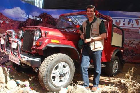 Mahindra launches Thar 4x4