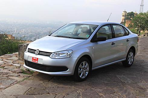 VW Vento test drive and review