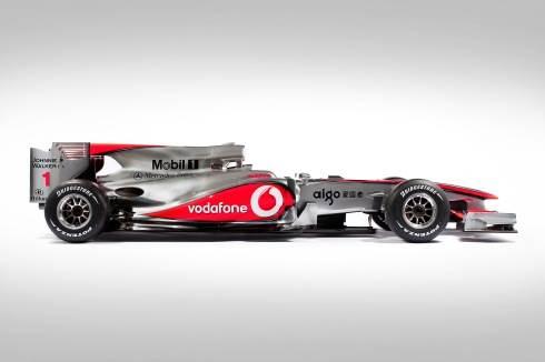 McLaren launches F1 2010 car