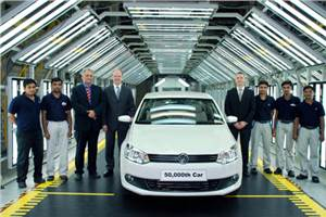 50,000th Volkswagen rolls out