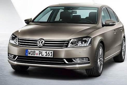 Volkswagen shows new Passat