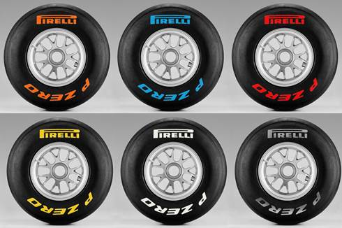 Pirelli reveals final colour markings