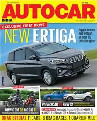 Autocar India Magazine Issue: Autocar India: August 2018