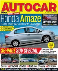 Autocar India Magazine Issue: December 2012