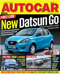 Autocar India Magazine Issue: August 2013