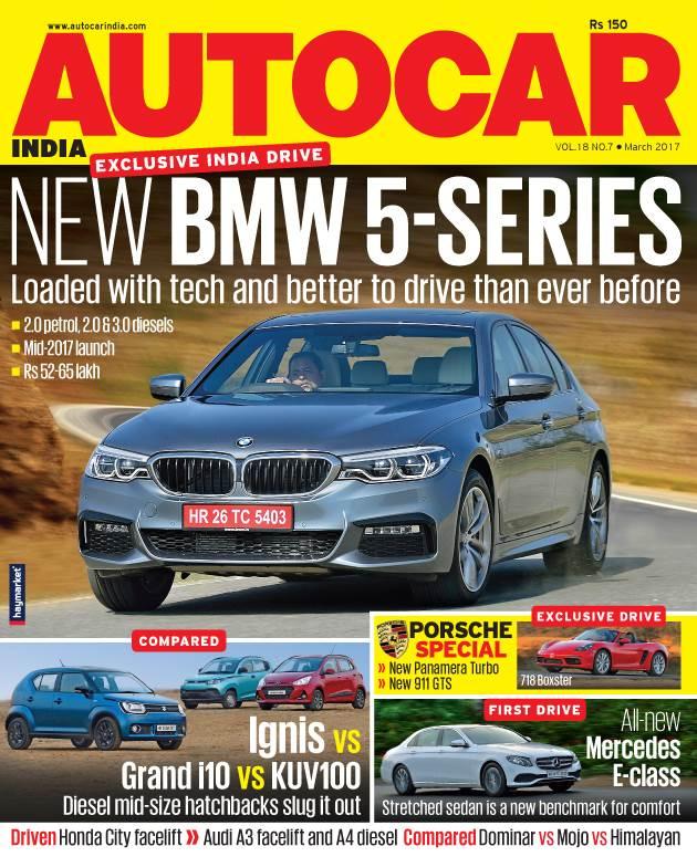 Autocar India Magazine Issue: Autocar India: March 2017