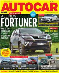 Autocar India Magazine Issue:  Autocar India: December 2016