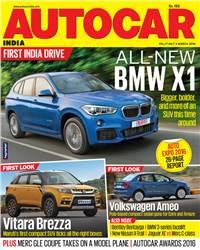 Autocar India Magazine Issue:  Autocar India: March 2016