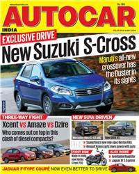 Autocar India Magazine Issue: May 2014