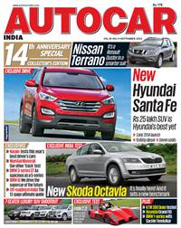 Autocar India Magazine Issue: September 2013 - 14th Anniversary Issue