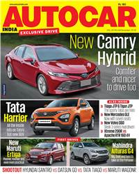 Autocar India Magazine Issue: Autocar India: December 2018