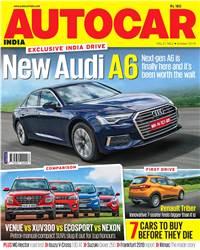 Autocar India Magazine Issue: Autocar India: October 2019
