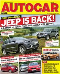 Autocar India Magazine Issue: October 2013
