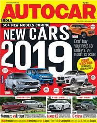 Autocar India Magazine Issue: Autocar India: October 2018