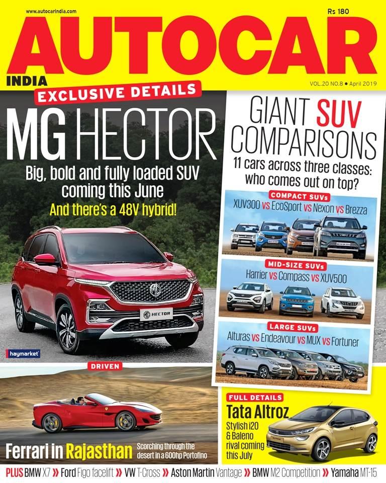 Autocar India Magazine Issue: Autocar India: April 2019