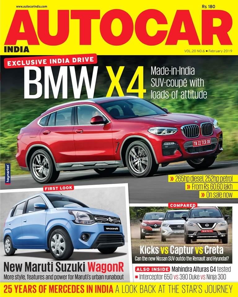 Autocar India Magazine Issue: Autocar India: February 2019