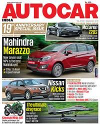 Autocar India Magazine Issue: Autocar India: September 2018