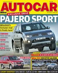 Autocar India Magazine Issue: Autocar India April 2012